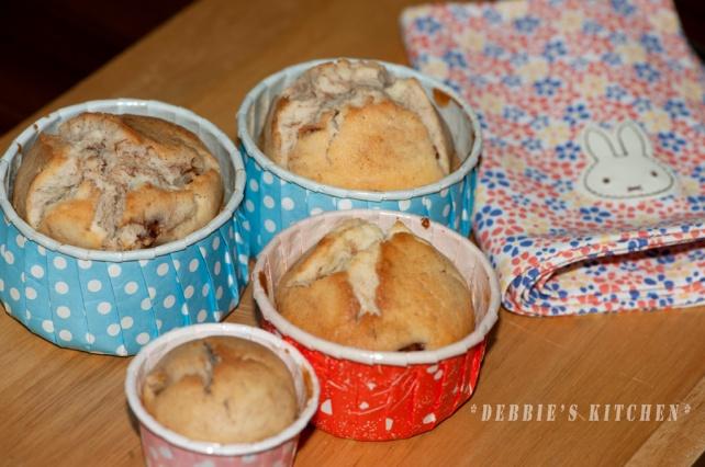 Apple cinnamon muffin  蘋果玉桂鬆餅