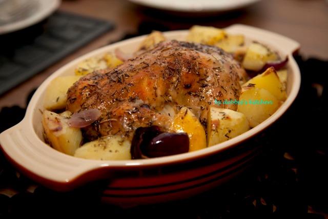 Succulent Roast Chicken 香草燒雞