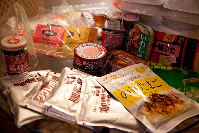 我們帶備了大量食物,足夠北京至莫斯科那段路程所須