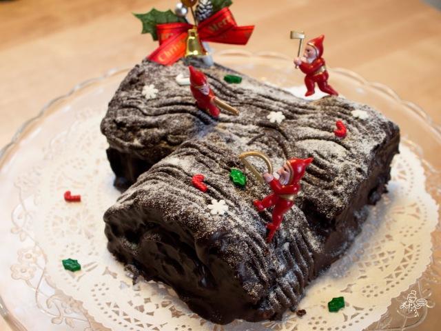 Buche de Noel  聖誕樹頭蛋糕