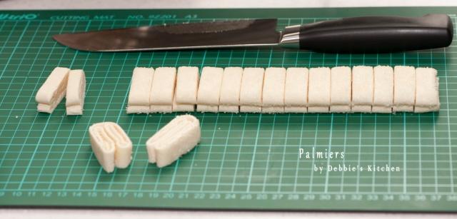 取出,用刀切開約1.25cm的幼條