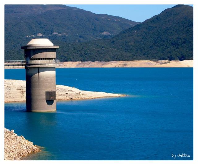 萬宜水庫的水塔