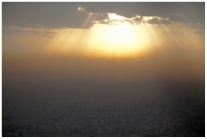 從Milad Tower頂上看德黑蘭市