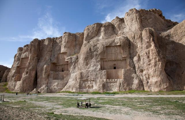 阿契美尼德帝國四位君主的陵墓