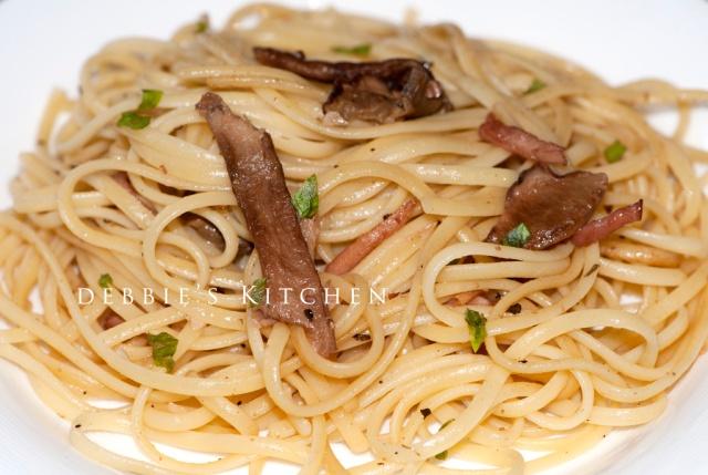 Porcini Linguine  牛肝菌意粉