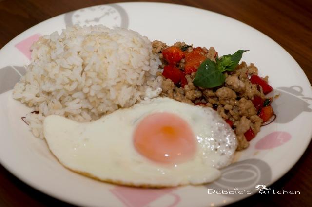 泰式香草肉碎飯 ガパオライス