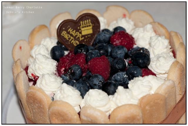 Summer Berry Charlotte Cake  雜莓夏洛特