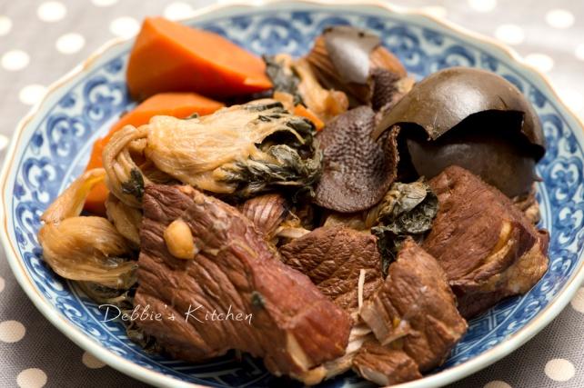 秋天湯水 –羅漢果菜乾瘦肉湯