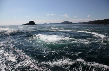 鳴門漩渦最大可以大到直徑20公尺