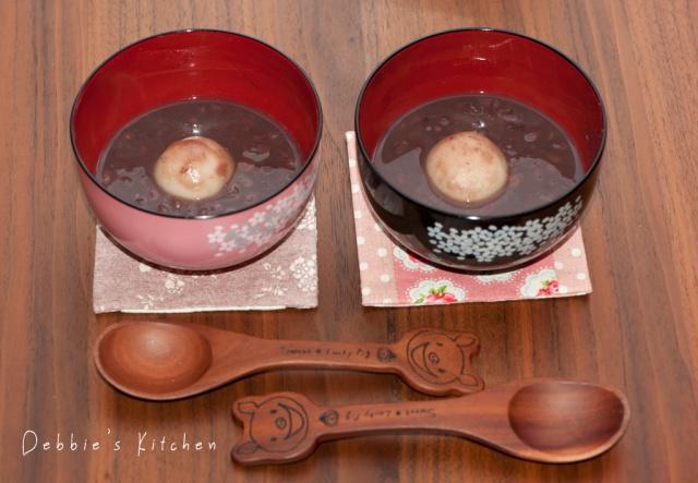 ぜんざい 紅豆湯圓