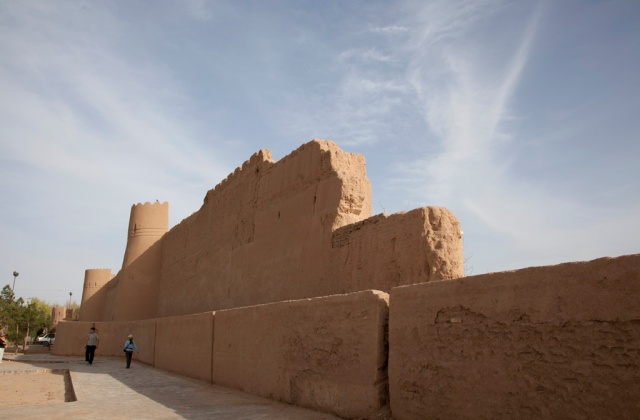 Yazd古城城牆