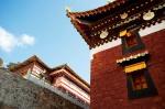 色彩豐富的藏式建築