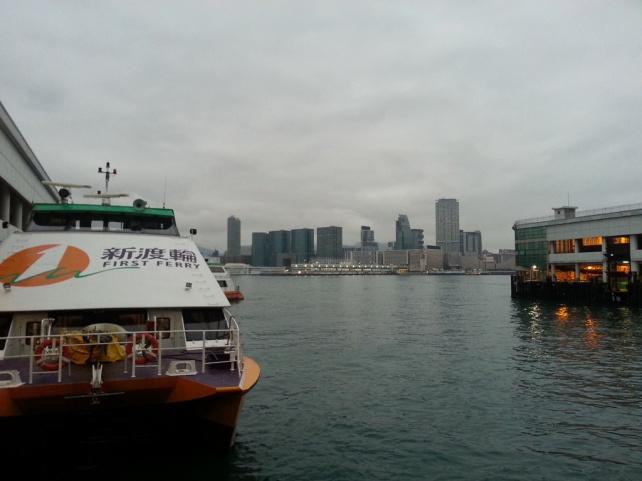 大會安排的船已到碼頭
