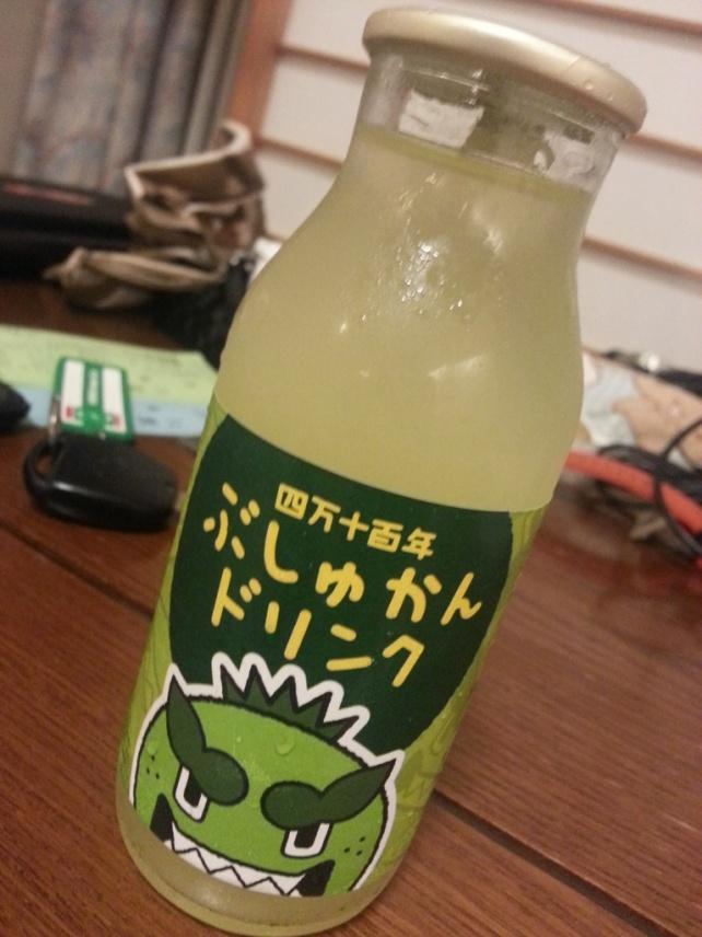 土佐特產青檸汁 (四万十の百年ぶしゅかんジュース)