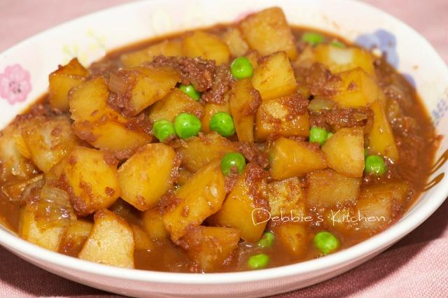 コンビーフじゃが 薯仔鹹牛肉