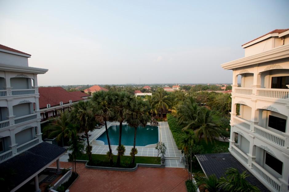 Ree Hotel, 房間對住泳池