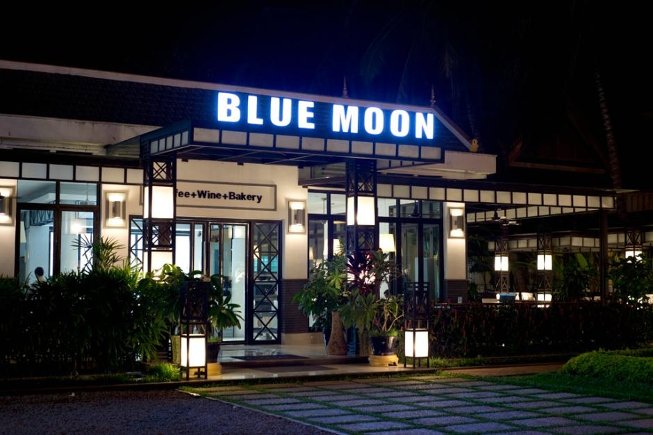 韓國人開的Blue Moon Cafe