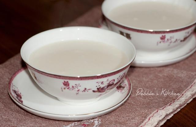 蛋白杏仁茶