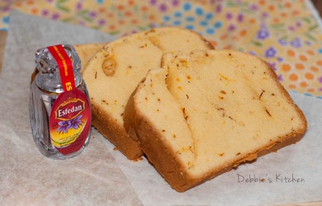 番紅花磅蛋糕   Saffron Pound Cake