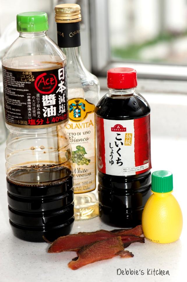 鰹魚醬油材料