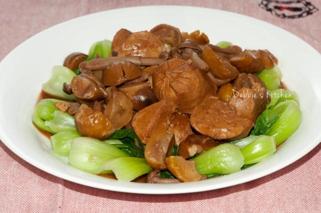 栗子燜素雞
