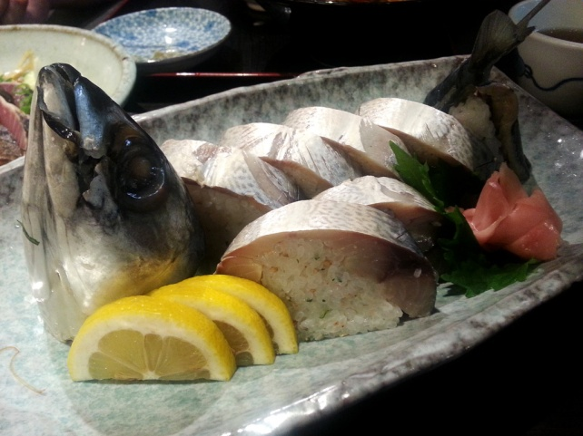 鯖魚壽司(清水さば姿寿司)