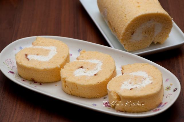 Roll Cake  原味蛋糕卷