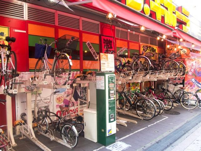 單車停車場