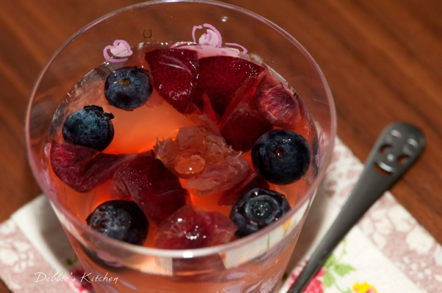 Mixed Berries White Wine Jelly  白酒果凍