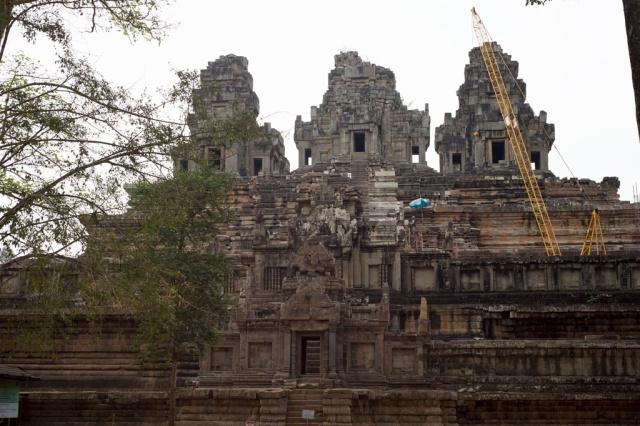 沒有完成的Ta Keo 塔高寺