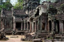 像廢墟的塔普倫廟