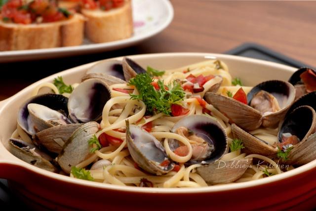 Spaghetti Alle Vongole  蜆肉意粉