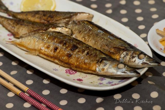 塩焼きさんま 鹽燒秋刀魚