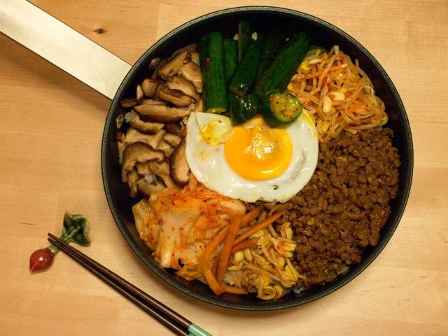ビビンバ  韓式牛肉拌飯