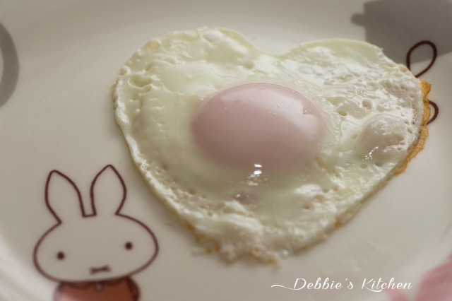 半熟目玉焼き 半熟煎蛋