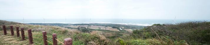 飽覽台灣海峽及海岸線