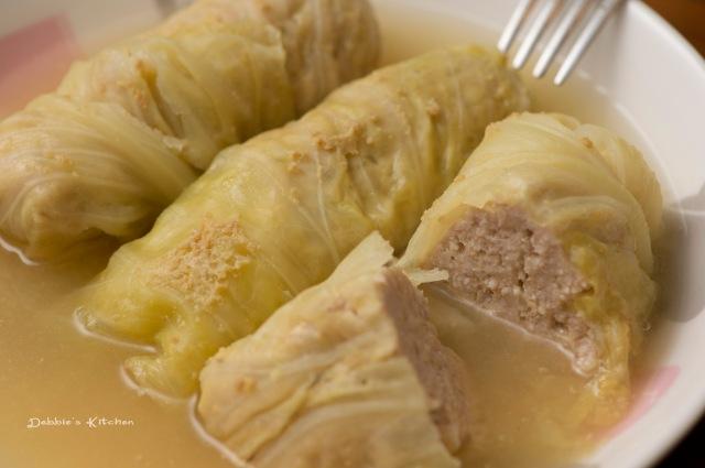 ロールキャベツ (椰菜豬肉卷)