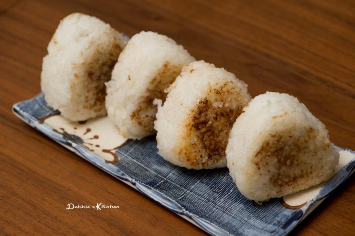 焼きおにぎり (烤飯糰) - 昆布和梅