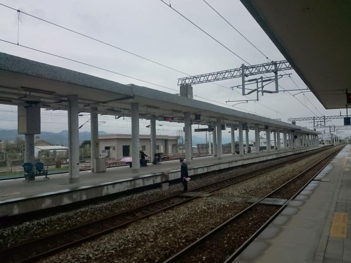 關山車站月台