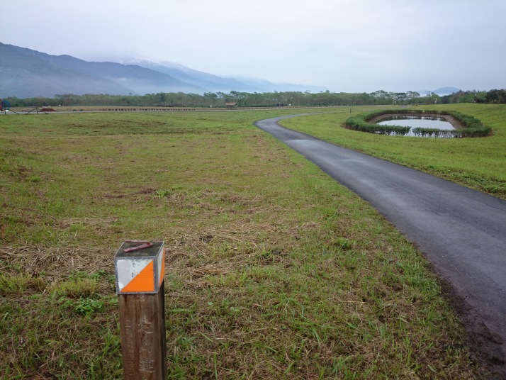 園區內有野外定向標誌