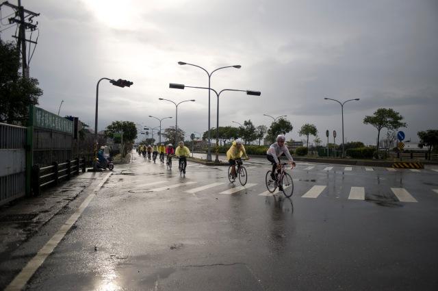 在雨中從宜蘭出發