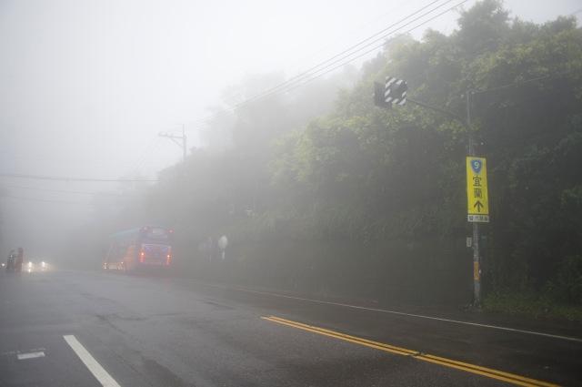 下午的天氣比上午更大霧