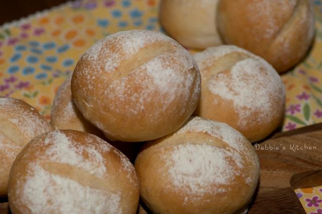 歐式小圓麵包