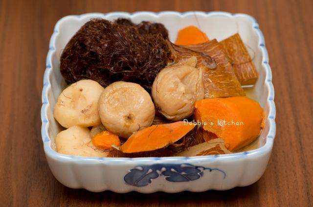 夏天湯水 –  老黃瓜粟米鬚馬蹄湯