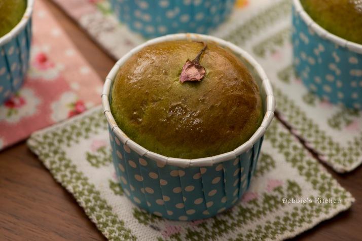 抹茶紅豆・芝麻包