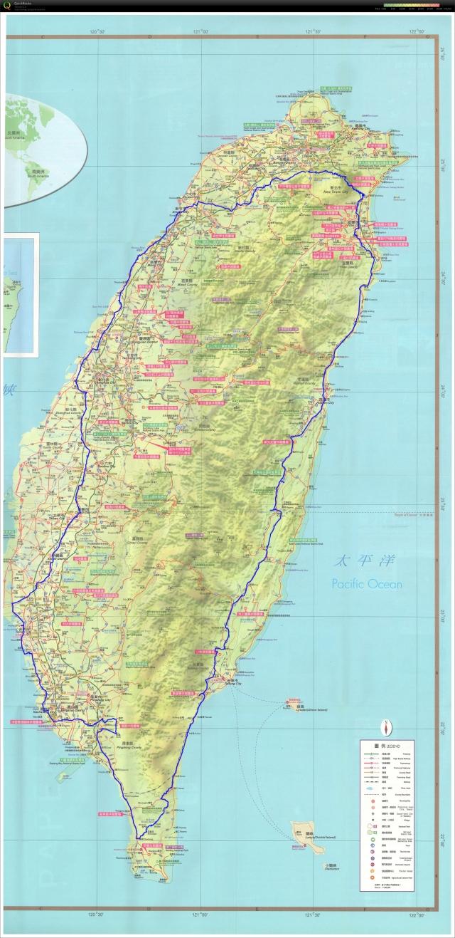 環島第九天 ~ 宜蘭羅東 – 台北新店