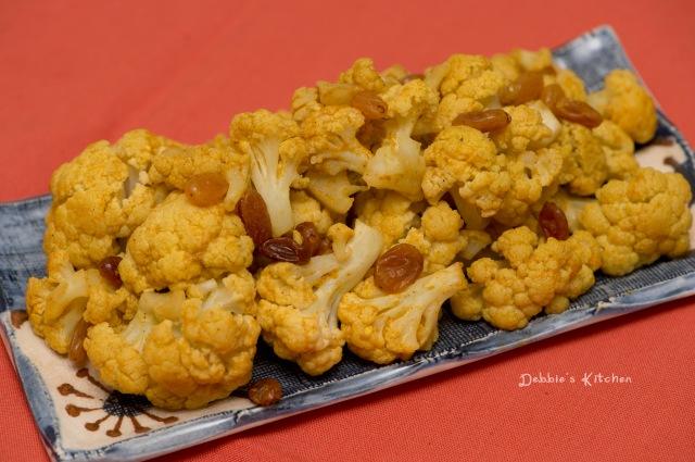 カリフラワーのカレー煮 咖哩椰菜花