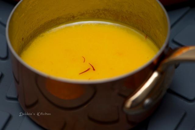 Saffron Butter Sauce 番紅花牛油汁