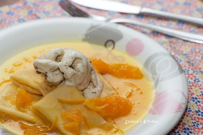 Crepe Suzette  法式香橙薄餅