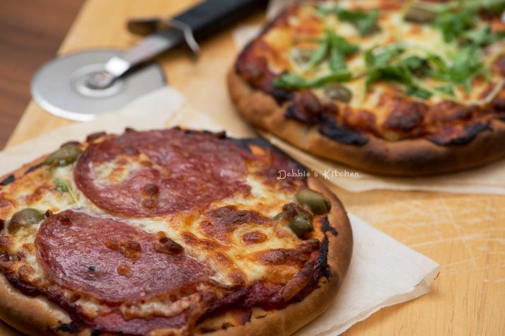 Salami & Cheese Pizza 意式薄餅